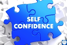 Jigsaw of self confidence