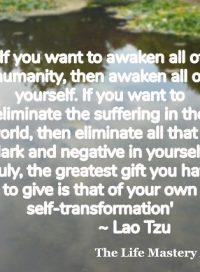 Lao-Tzu quote
